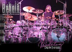 Mike Portnoy Drum Set | Drumset: Tama StarClassic Mirage Crystal Ice