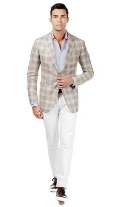 Ariston Tan Jacket  #menswear #mensfashion #graysuit #mensstyle #glennplaid #wedding #weddingsuit #groom #groomssuit #groomsmen #groomsman #weddingstyle #suitandtie #bluesuit #plaidsuit #strippedsuit #pinstripes #tux #tuxedo #weddingtuxedo #blacktux #plaid #plaidjacket