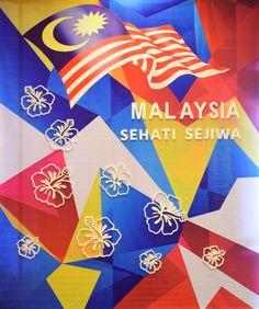Decor Malaysia Day at Renaissance Kota Bharu Hotel.