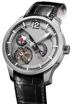 Greubel Forsey Tourbillon 24 Secondes Contemporain Watch With Titanium Dial