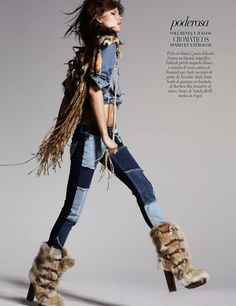 Kasia Struss by David Roemer for Vogue Mexico August 2012 <3