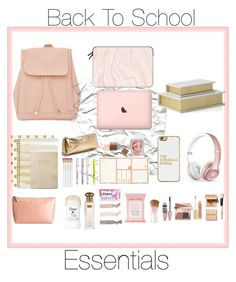"""""""My Back to School Must Haves"""" by radickerson85 on Polyvore featuring Kate Spade, New Look, Sugar Paper, Express, BaubleBar, Beats by Dr. Dre, Casetify, Dolce Vita, Topshop and Maybelline"""