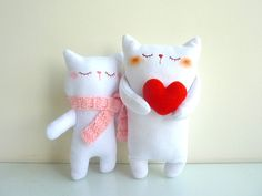 Adorable stuffed animals with accessories