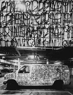 art con camioneta