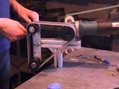 Oštrenje i poliranje noževa. Polishing and sharpening knives.Polieren und Schleifen von Messern - YouTube