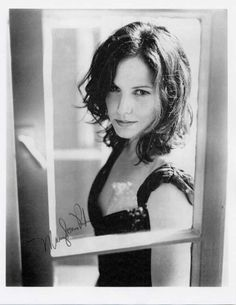 Mary Louise Parker (she's getting a bit tiresome on Weeds)