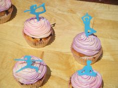 yoga cupcakes  by sweetbits-bakery.com