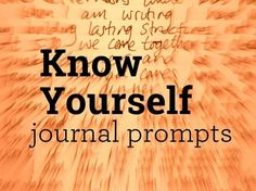 When we know who we are,we're more able to livewith intention. These journal questions are meant to help you rediscover who you are right now. Read through, think about them, write or discuss. Come back to the ones that hit you most deeply. Take just 5 to 10 minutes responding to one of the prompts …