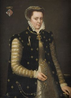 c. 1559. Portrait of Margaret of Parma Antonis Mor, Netherlandish, c. 1512/16 - c. 1576 Philadelphia Museum of Art