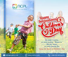 Happy Birthday to All the Children Around the world, Happy International Children's Day...! #WorldChildrensDay #InternationalChildrensDay #ChildrensDay2020 #ncplinc