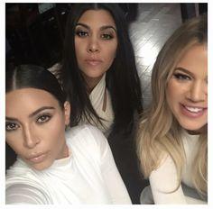 @kimkardashian: All white everything...well not everything! 👅