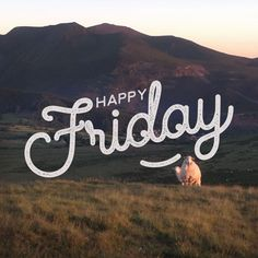 Happy Friday Typography and Photography