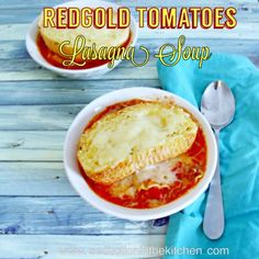 Red Gold Tomatoes Lasagna Soup | Seduction in the Kitchen