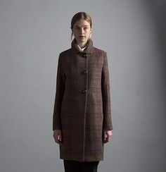Jackson coat. Available custom-made or ready-to-wear.http://katherinehooker.com/catalog/winter-collection/jackson-2/