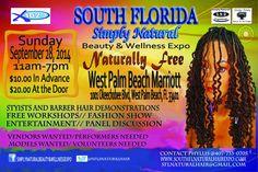 South Florida Simply Natural Hair Beauty & Wellness Expo   West Palm Beach, FL