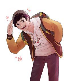 Goshiki Tsutomu, Haikyuu Funny, Haikyuu Characters, Brain, Anime, Boys, The Brain, Baby Boys, Cartoon Movies