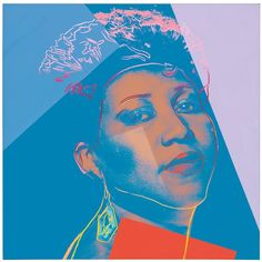Andy Warhol American Aretha Franklin c 1986 Synthetic polymer and silkscreen inks on canvas 40 x 40 in Andy Warhol Artwork, Andy Warhol Portraits, Warhol Paintings, Aretha Franklin, Arte Pop, Art Challenge, Popular Culture, Musical, American Artists