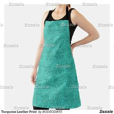 Rodeo Cowgirl, Cowgirl And Horse, Western Kitchen Decor, Cowboy Ranch, Cook At Home, Summer Bbq, Leather Tooling, Apron, Cool Designs