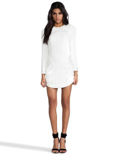 bless'ed are the meek Palm Dress in Ivory | REVOLVE