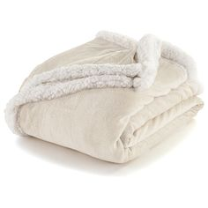 Andover Sherpa Throw from Super Soft Bedding on Gilt Dance Team Gifts, New Interior Design, Faux Fur Throw, Fleece Throw, Blanket Sizes, Calves, Plush, Ivory, Blankets