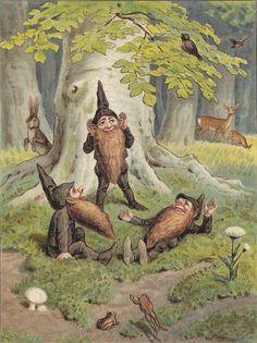 Dwarves. 1900