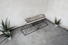 Calcarenite Bench, 2015 by Cosma Frascina www.cosmafrascina.com #form #material #texture