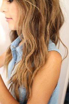 blond/brown long hair. this is the color that i wantttt | best stuff