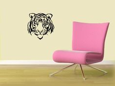Housewares Vinyl Decal Tiger Animal Head Home Wall Art Decor Removable Stylish Sticker Mural Unique Design for Any Room Decal House http://www.amazon.com/dp/B00DQQ003W/ref=cm_sw_r_pi_dp_cbaUtb1S066RG8KZ