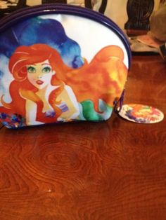 Disney Dare to Dream Cosmetic Bag Ariel by Soho Limited Edition Newest Bag | eBay