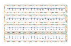 Risultati immagini per linea dei numeri fino a 100 for Linea dei numeri da stampare