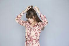 tutorial per come fare i capelli mossi, realizzare uno chignon come semiraccolto Tutorial, Women, Fashion, Hair Updo, Moda, Women's, La Mode, Fasion, Fashion Models