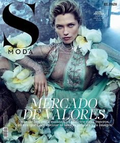 Hana Jirickova by Kristian Schuller for S Moda November 2017 Cover