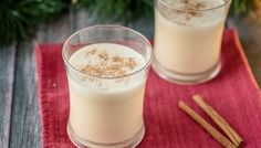 Homemade Dairy-Free Eggnog | Paleo, Refined-Sugar Free