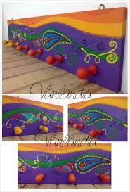 Resultado de imagen para mandalas de fibrofacil pintadas
