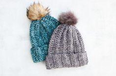 1.5 Hour Beanie – Free Crochet Hat Pattern for Beginners
