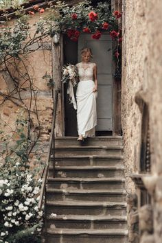 This bride is glowing in her romantic bridal gown is an elegant a-line silhouette | Image by Melli & Shayne #elegantwedding #wedding #weddinginspiration #weddinginspo #castlewedding #europeanwedding #bride #bridalinspiration #bridalstyle #bridalfashion #weddingdress #weddinggown