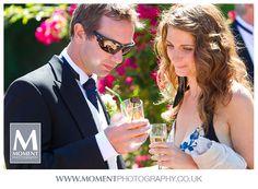 Pimms and champagne at Adam & Helen's wedding at Gants Mill, Bruton, Somerset. www.gantsmill.co.uk