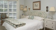 Dream Homes | Country Home Ideas | The Country Lifestyle Magazine  LOVE this colour BLUE for a bedroom