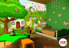 Fototapet Copii 10 Alba ca zapada - VIODesign Toddler Bed, Furniture, Home Decor, Art, Beast, Photo Wallpaper, Child Bed, Art Background, Decoration Home