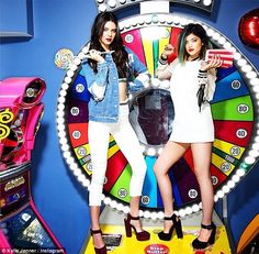 Get ready! Kendall and Kylie Jenner shared a promotional picture of their new Kendall And Kylie Madden Girl collection http://dailym.ai/1pY6xbf