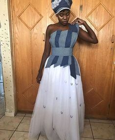 Traditional Shweshwe Dresses For 2020 ⋆ Evening Dresses, Formal Dresses, Wedding Dresses, Beautiful African Women, Shweshwe Dresses, African Tops, African Wedding Dress, African Fashion Designers, Aso Ebi Styles
