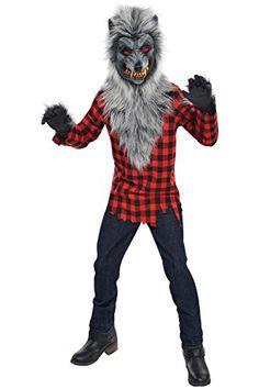 Costume Enfant - Loup-Garou - taille 14-16 ans Halloween http://www.amazon.fr/dp/B00UXLRH02/ref=cm_sw_r_pi_dp_nwwhwb1BQE60R