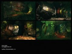 Ghostbusters Environment 19 (protoncharging, 2013)