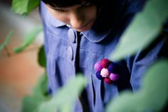 Radiant Orchid Brooch  Violet brooch in by SuddenlyYou on Etsy, $20.00