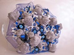 Gallery.ru / Мой первый букет из игрушек - Букеты из конфет - nastya-masteriza