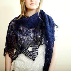 winter thaw free shawl pattern