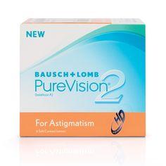 PureVision 2HD For Astigmatism HD lensler Bausch + Lomb markası tarafından üretilmektedir. Astigmat gözler için saydam yumuşak kontak lensler PureVision 2HD For #Astigmatism Yüksek #kalite #toric astigmat #HD #kontak #lensler.,