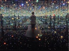 Infinity Mirrored Room – The Souls of Millions of Light Years Away and Love Is Calling | Exhibition by Artist Yayoi Kusama