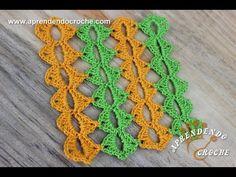 Técnica Crochê Mile a Minute - Aprendendo Croche  Vários formatos gostei