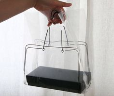 Illust Transparent Plastic Bag set (20 bags) $5
